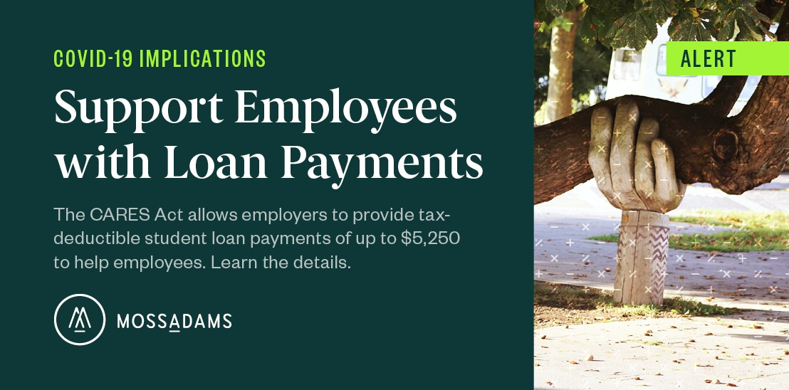 Support Employees with Tax-Deductible Student Loan Payments